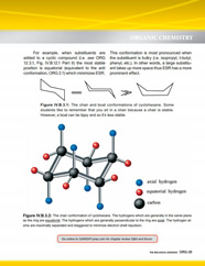 GAMSAT Organic Chemistry review of the chair conformation of cyclohexane