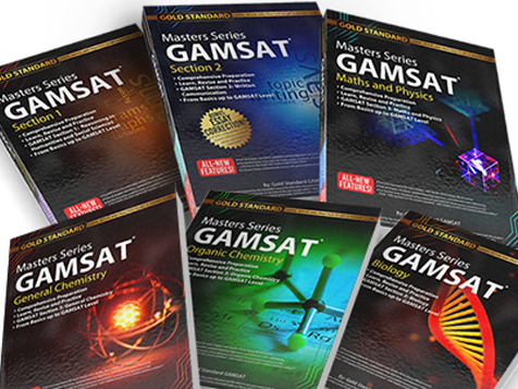 The 2021 New GAMSAT Masters Series GAMSAT preparation books