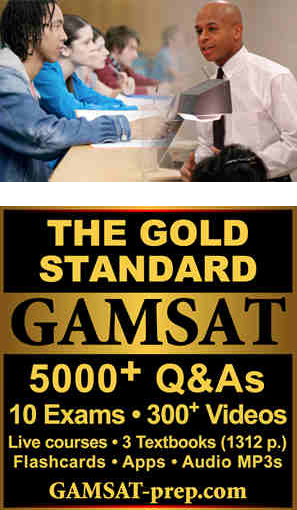 Complete GAMSAT Course including Live Classes, All Course Materials and Online Features